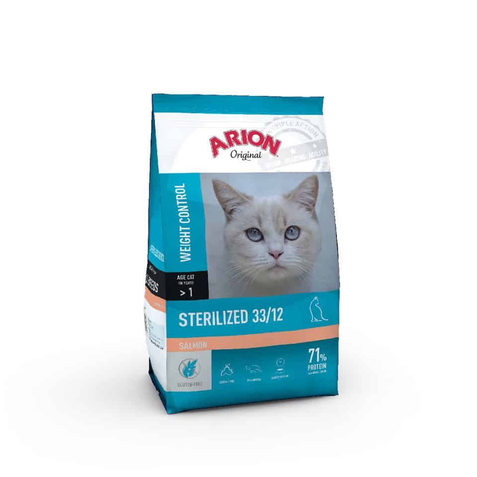 Arion Original Cat Sterilized 33/12 Salmon