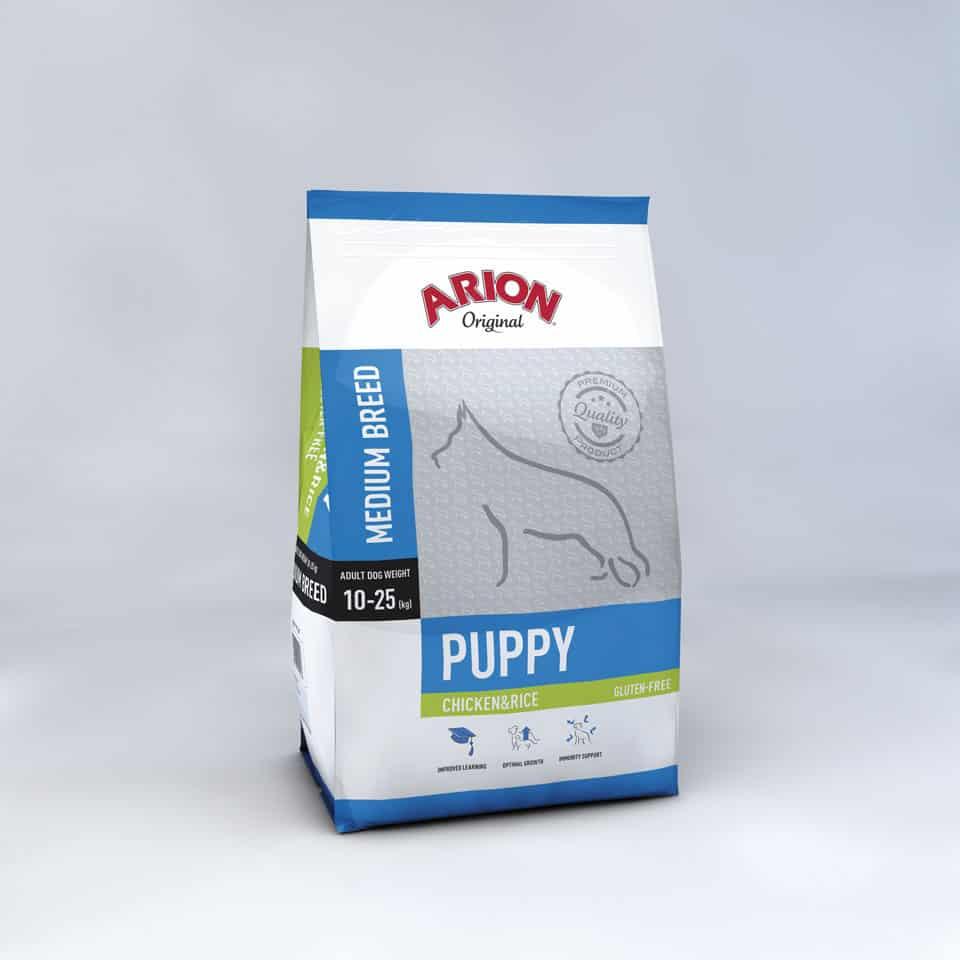 Arion Original Puppy Medium Breed Chicken&Rice